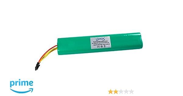 Hannets/® Batteria 3500 mAh compatible con Neato Botvac I Botvac Neato 85 e D85 Batteria di Ricambio I Batteria Aspirapolvere Robot 12 V