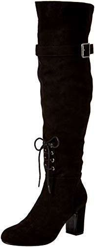 Joe Browns Damen Sassy Over The Knee Boots Overknees, Schwarz (Black A), 41 EU