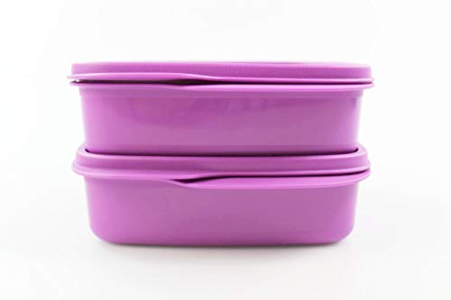 Tupperware to Go 550 ml lila clevere Pause Lunchbox Brotbox (2) 35114