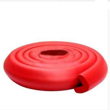 KINGDUO Bc-Sp01 200Cm L Form Dicken Baby-Sicherheits-Ecke Schutzkante Kissen-Rot