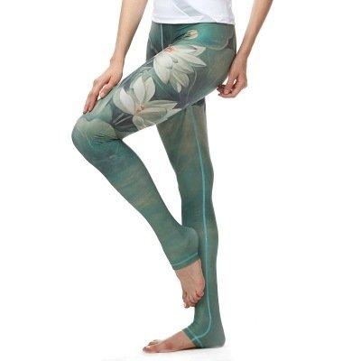 JIALELE Pantalon Yoga La Niña Capri Tinta Capri Yoga Estirar El Movimiento  Firme 7 Pantalones De Secado Rápido 413b56bfec90
