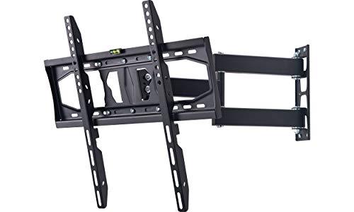 AmazonBasics Essentials vollbewegliche TV-Dreiarm-Wandhalterung für 81,2-177,8 cm (32-70 Zoll) TV-Geräte