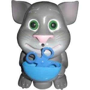 Talking Tom Cat Magic Musical Bubble Maker Toy