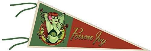 DC Universe DC Comics dec152444Bombshells Poison Ivy Pennant (Poison Ivy-bombshell Poster)