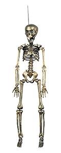 Generique - Esqueleto de oro de Halloween De Colgar decoración de Halloween
