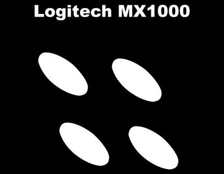 Corepad SKATEZ CS24660 Piedini per Mouse Logitech MX1000/5000/610/620
