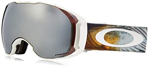 Oakley Unisex-Erwachsene Airbrake XL 707126 1 Sportbrille, Schwarz (Corduroy Dreams Laser/Prizmroseiridium&Prizmbla), 99