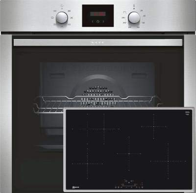 Neff XB48I Set Backofen BCB1402 + Induktionskochfeld TBD4800N Einbau Ofen Küche