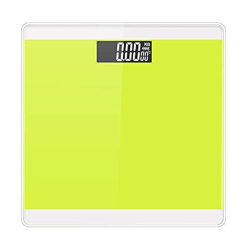 Elektronische Gesundheit Skala (AXIANQI Elektronische Waage Körper Elektronische Sagte Haushaltswaage Genaue Erwachsene Gesundheit Skala Elektronische Waage (Farbe : Green))