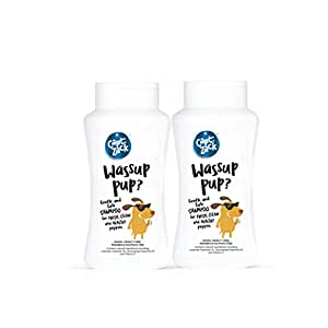 Captain Zack Wassup Pup?, Sulphate Free Shampoo for Sensitive Skin Dogs for All Age Groups – 50ml Each Pack of 2
