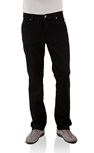 Mustang Herren Jeans Tramper - Slim Fit oder Tapered Fit in vielen Waschungen, Größe:W 32 L 32, Farbe:Midnight Black (111-3175-490)