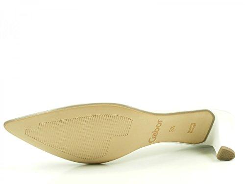 Gabor Shoes 61.25, Scarpe con Tacco Donna Weiß