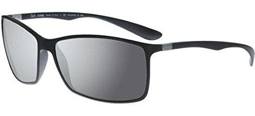 Ray-Ban Sonnenbrillen LITEFORCE TECH RB 4179 MATTE BLACK/SMOKE POLARIZED MIRROR Unisex