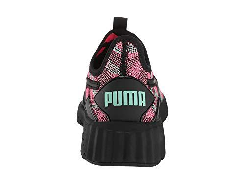 PUMA Women s Defy Street 1 Black Biscay Grey 6 5 B US B  M