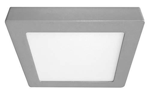 Secom Downlight NUVA Eco LED Cuadrado Superficie 18W Cromo Mate 5700ºK 1520...