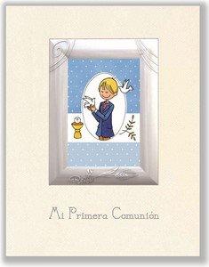 Edicromo  - Libro portarretratos niño de mi Primera comunión