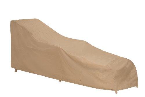 Protective Covers Schutzhüllen 1121-tn Wetterfester Bezug für Rattan/Rattan Recamiere, Tan