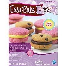 easy-bake-oven-chocolate-chip-pink-sugar-cookies-mixes-32-oz-by-playskool