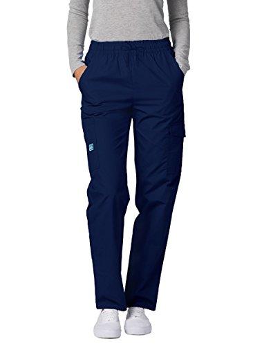 Pantaloni Camice Medico – Pantaloni da Donna Uniforme Ospedale - 506 Colore: NVY | Dimensione: M