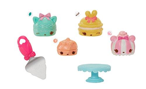 Preisvergleich Produktbild Num Noms – Series 4.1 – Glitter Lipgloss – Tea Party – Set mit 3 liebevoll duftenden Num + 1 Lipgloss Nom Minifigur