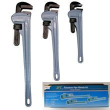 3 Piece Aluminum Pipe Wrench by Pit Bull