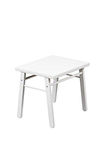 Combelle Table pour Enfant Laquée Blanche