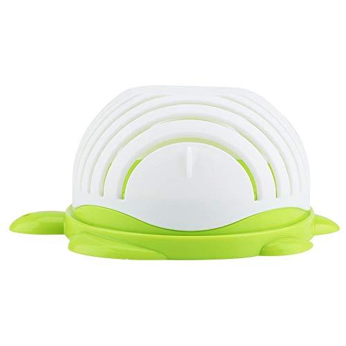 Salat Cutter Bowl Blender mit Deckel, Obst Gemüse Pan Chopper Mixing Tools für den Heimgebrauch -