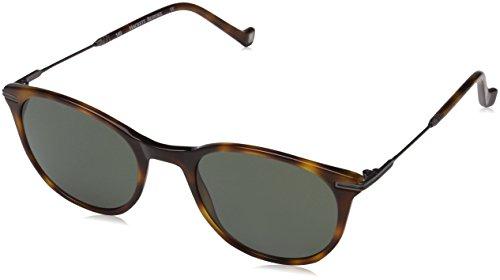Hackett Bespoke Sunglasses Sonnenbrille HSB862, Schwarz (Black Wood), 51