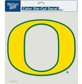 t Aufkleber–20,3x 20,3cm Color By Hall of Fame Kuriositäten (Oregon-duck-aufkleber)