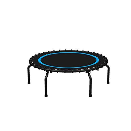DUOER home-Gartentrampoline Mini Trampolin, 40 Zoll Faltbare Fitness Übung Prahler Sport, Sicherheit Fitness Gym Übung Kinder Erwachsene Indoor Outdoor (Color : Blue)