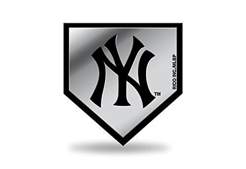 Rico Industries MLB NEW YORK YANKEES 3D Auto Chrom Aufkleber