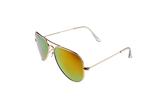 HAWKES - Polarisierte Pilotenbrille - Gold