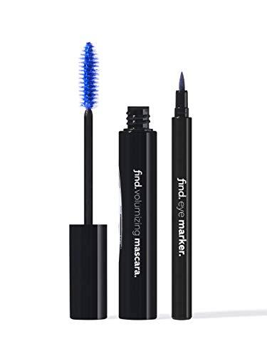 FIND - Mood Blue - Volumen-Mascara (blau)+ Eyeliner-Marker (blau)