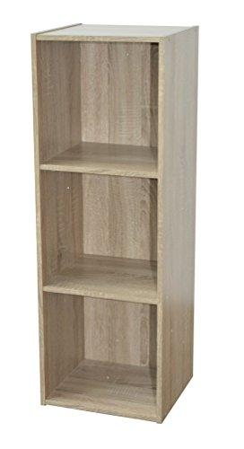 Alsapan 483664 - Gabinete de almacenamiento, acabado de roble - 31 x 30 x 93 cm