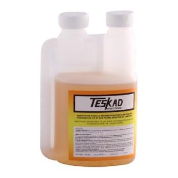 Insecticide concentré Teskad 100ml Anti punaises de lit Anti puces Anti cafards Anti mouches Anti mites Anti acariens Anti araignées