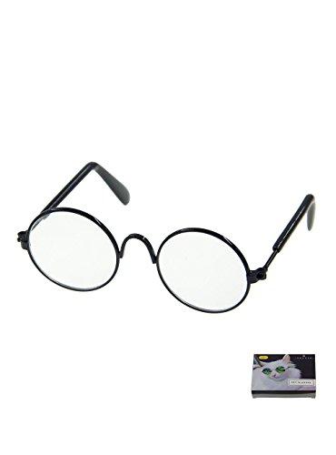 MMY rund, Metall-Rahmen, Sonnenbrille, Gläser, für Katzen oder kleine Hunde, 1Stück