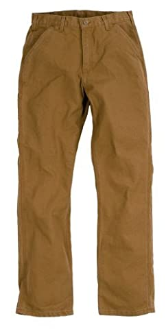 Carhartt BRN WASHED DUCK WORK PANT W32/L30