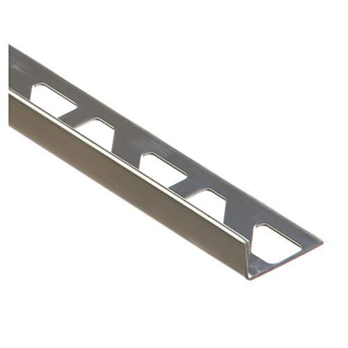 CEZAR T de SN de L10de N de 100l forma de L de perfil 10mm 1,0m acero inoxidable redondeado, natural, 0,01X 1,0M