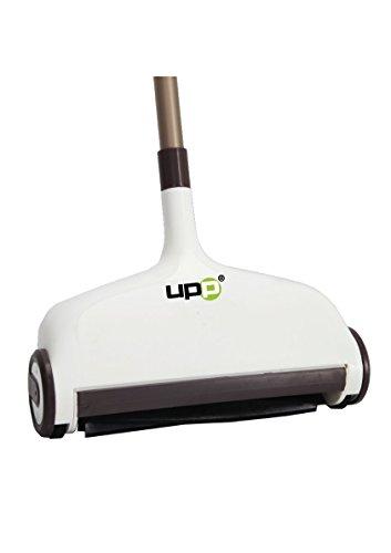 UPP Bodenkehrer 2 in 1 mit Wischfunktion (inkl. 2 Wischpads) - Wischen & Kehren gleichzeitig mit Einem Gerät