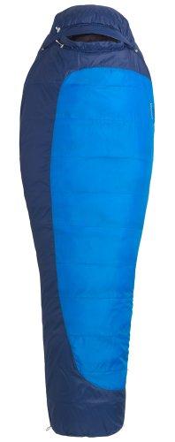Marmot Trestles 15 Sleeping Bag Long X wide Cobalt Blue/Deep Blue Ausführung rechts 2016 Mumienschlafsack