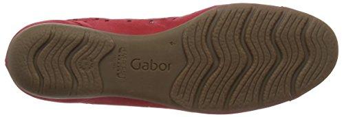 Gabor 44-169-15, Ballerines Femme Rouge (Red Nubuck)