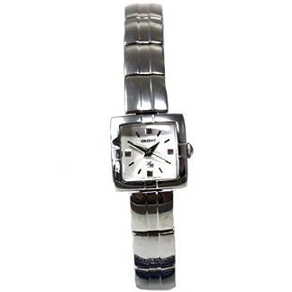 Orient crpep001W0–Reloj de pulsera de mujer, correa de acero inoxidable color plata
