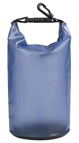 LiLiRoseuk Farbige Driften wasserdichte Tasche für Boot und Kajak Angeln Rafting Schwimmen Campin Kanu fahren 2L blau