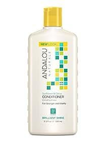 Andalou Naturals Revitalisant Sunflower & Citrus - A base de tournesol et d'agrumes - Éclat plein de vitalité pour tous types de cheveux - 340ml
