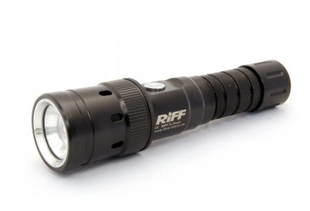 Riff Tauchlampe mit Zoom