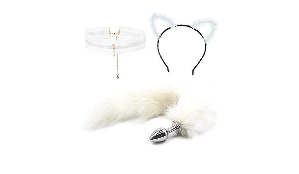 Auidy/_6TXD Lot de 2 serre-t/êtes oreilles de renard pour enfants et adultes