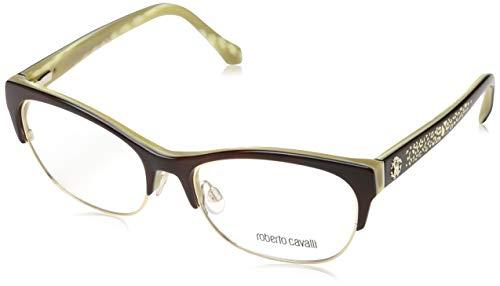 Roberto Cavalli Damen Brille RC5023 056 54 Brillengestelle, Mehrfarbig,