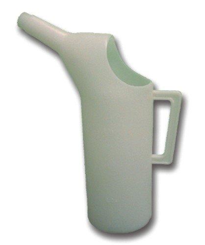 Caraffa graduata plastica per olio lt 5 utensileria manuale