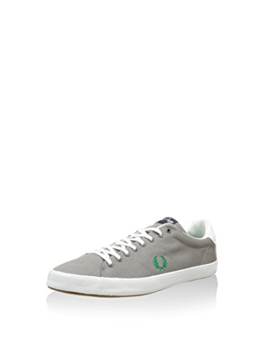 FRED PERRY uomo sneakers basse B6260 119 HOWELLS TWILL Grigio