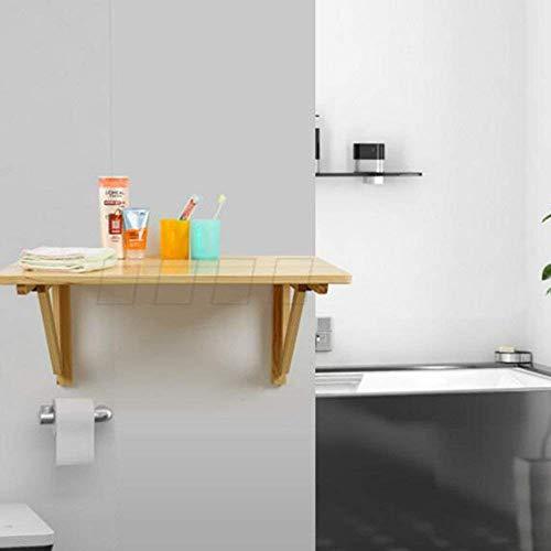 DEED Kleine Tabelle Haushalt Massivholz Wand zusammenklappbar Dining Wand-montiert Dining Wall Bar gegen Wand einfache Moderne Schlafzimmer einfache Studie Tabelle,80 * 40 cm